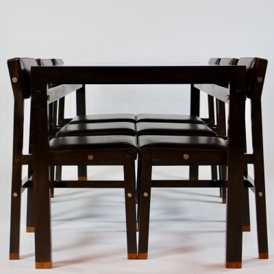 Table & Chairs By Pieter De Bruyne for La Permanente Mobili