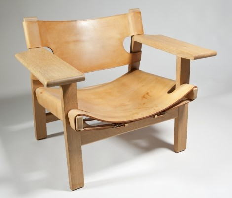 Spanish Chair by Børge Mogensen for Fredericia Stolefabrik