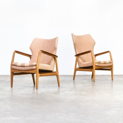 Pair of Aksel Bender Madsen lounge chairs for Bovenkamp, 1960s