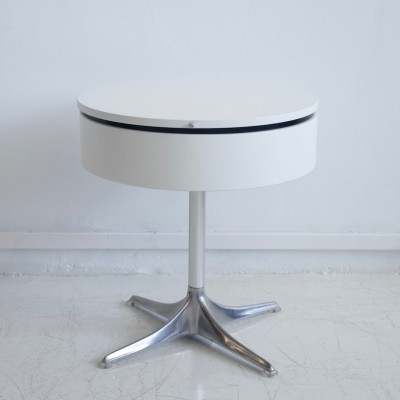 Horst Brüning for COR Round White Side Table