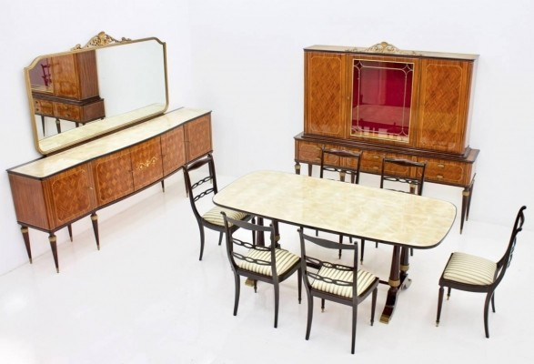 Italian dining room set, 1959