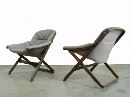 Swedish Chairs by Göte Möbel, 1980s
