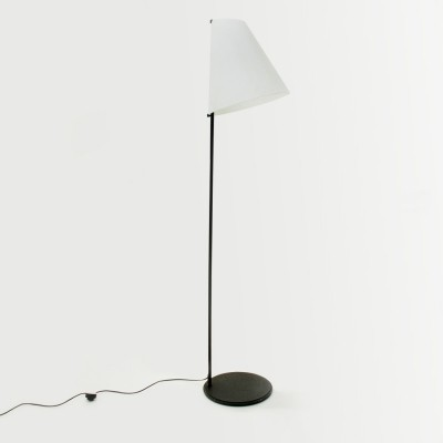 Micene Floor lamp with opaline shade by Leucos, 1950s