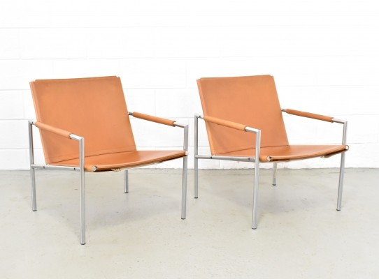 2 x SZ01 lounge chair by Martin Visser for Spectrum, 1960s
