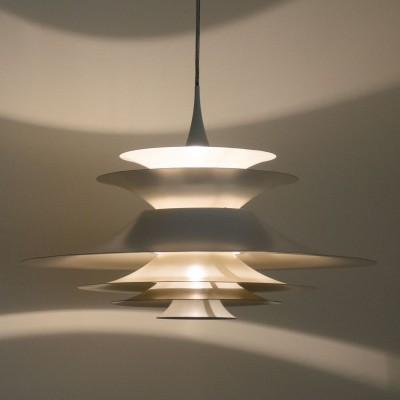 Very large 70cm diameter Radius III pendant by Erik Balslev for Fog & Mørup