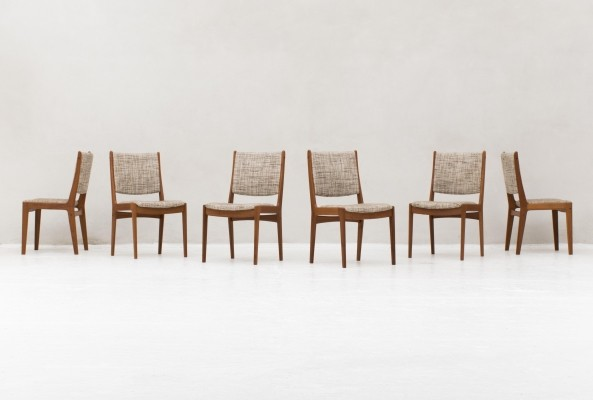 6 dining chairs by Imha, Germany 1950s