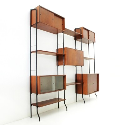 Aedes Italian mid-century wall unit by Amma, 1950s