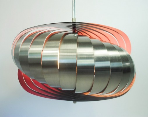 Henri Mathieu hanging lamp, 1970s