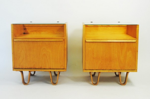 Pair of NB01 cabinets by Cees Braakman for Pastoe, 1950s