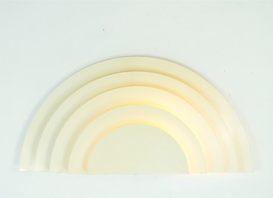 5 x Meander wall lamp by Cesare Casati & C. Emanuele Ponzio for Raak Amsterdam, 1970s