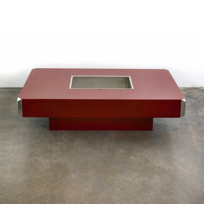Willy Rizzo 'Alveo' coffee table for Mario Sabot, 1970