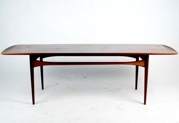 Mod. FD 503 Teak Coffee Table by E. Kindt Larsen for France & Daverkosen