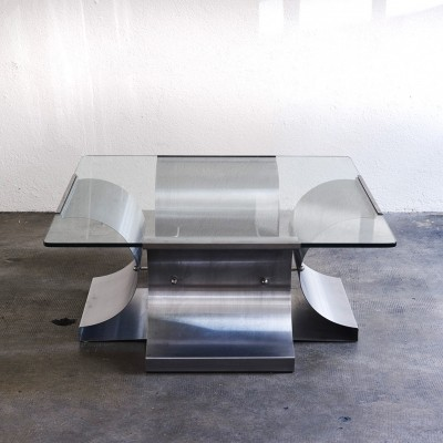 Coffee table by François Monnet, 1970