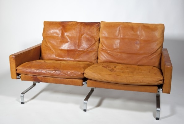 Model PK31/2 sofa by Poul Kjærholm for E. Kold Christensen, 1950s