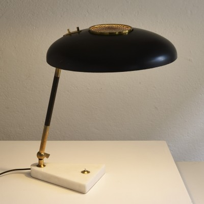 Elegant table lamp by Oscar Torlasco for Stilux, 1950