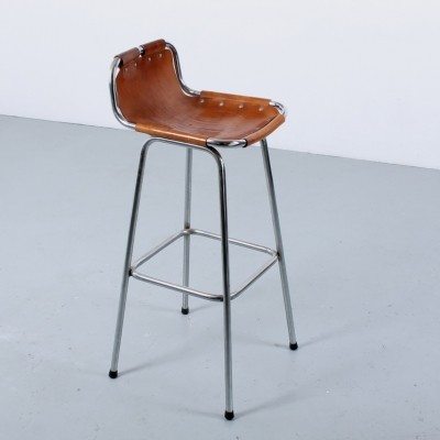 Les arcs ski resort bar stool by Charlotte Perriand