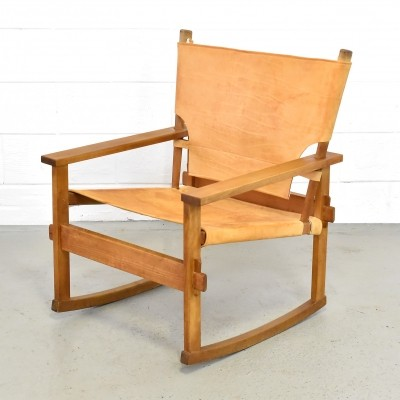 Poul Hundevad rocking chair, 1960s