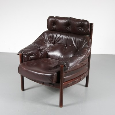 1960s Arne Norell lounge chair