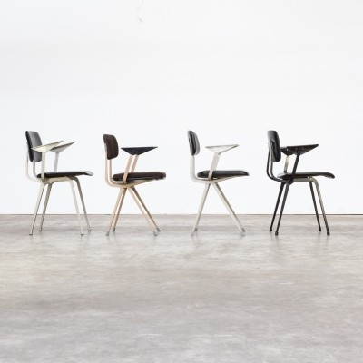 Lot of 4 individual Friso Kramer office chairs for Ahrend de Cirkel