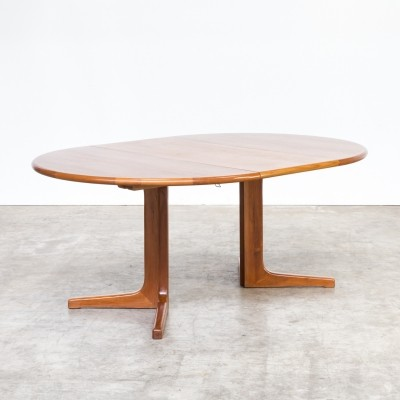 Niels Otto Møller extendable dining table for Gudme Møbelfabrik, 1960s