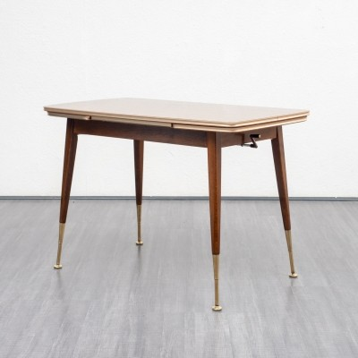 Height adjustable & extendable coffee / dining table, 1950s