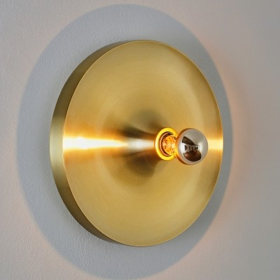 Flush mount wall lamp by Honsel, 1970s