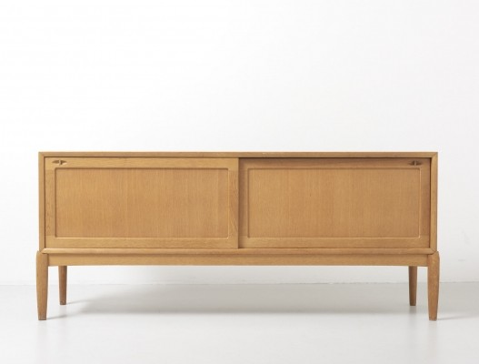 Sideboard in oak by H.W. Klein for Bramin