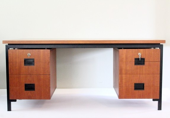 EU02 writing desk by Cees Braakman for Pastoe, 1950s