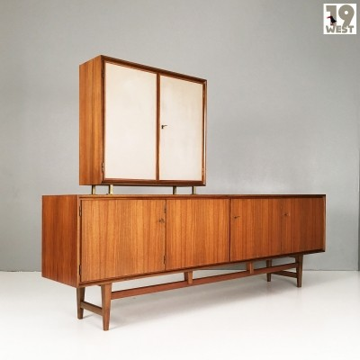 Modernist sideboard with top unit from the 1950's