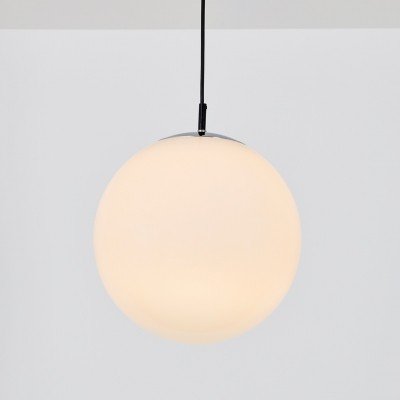 6 x Ochtendnevel large hanging lamp by Raak Amsterdam, 1970s
