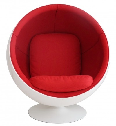 Eero Aarnio Ball Chair in Kvadrat by Adelta