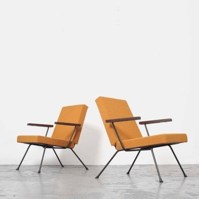 Pair of Andre Cordemeijer 'Model 1409' Lounge Chairs for Gispen, 1959