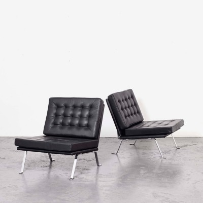 Hein Salomonson Pair of Lounge Chairs for AP Originals, 1960