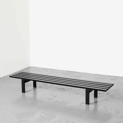 Martin Visser BZ81 Slat Bench for 't Spectrum, 1960