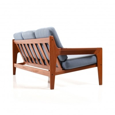 Danish Teak 3-seater Sofa by Arne Wahl Iversen for Komfort