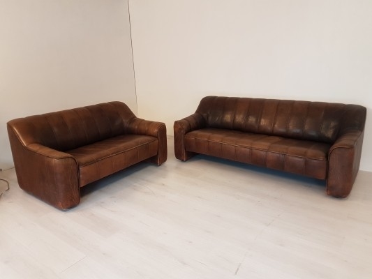 De Sede DS-44 sofa set, 1970s