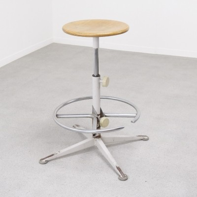 Industrial stool by Friso Kramer for Ahrend de Cirkel, 1950s