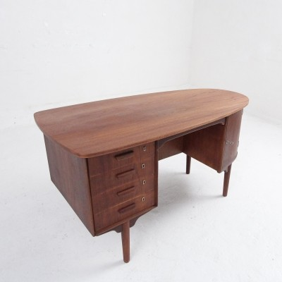 Danish Mid-century desk in organic shape