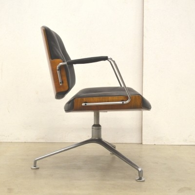 FK84 office chair by Jørgen Kastholm & Preben Fabricius for Kill International, 1960s