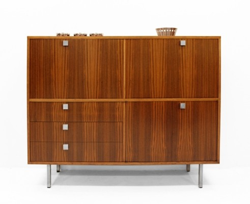 Combined office-bar-cabinet by Alfred Hendrickx