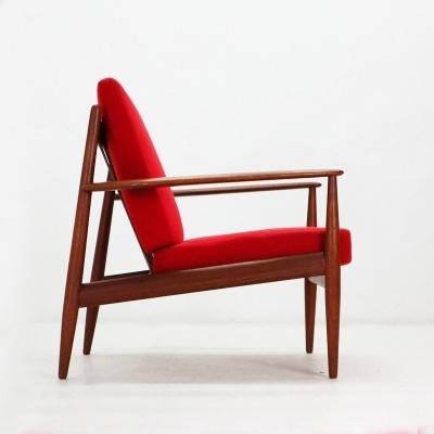 Model 18 Teak Easy Chair by Grete Jalk for France & Daverkosen, 1950s
