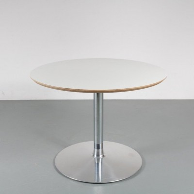 Small round dining table by Pierre Paulin for Artifort, 1980s