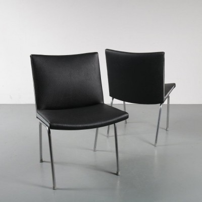 2 x AP-40 lounge chair by Hans Wegner for AP Stolen, 1950s