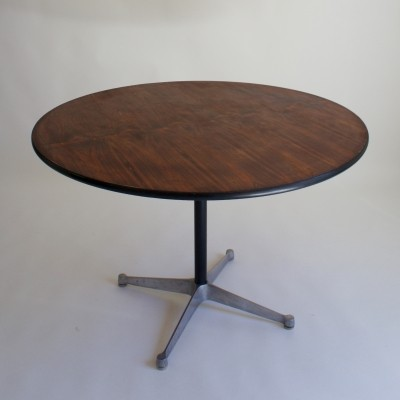 1960's Eames Rosewood Dining Table by Herman Miller