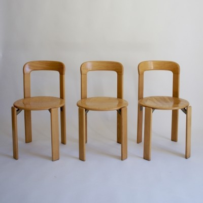 Bruno Rey Dining Chairs by Kusch & Co