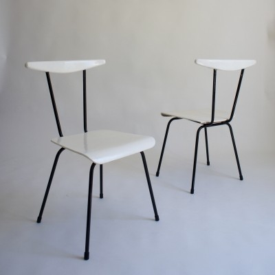 A pair of Wim Rietveld Dress Boy Chairs For Auping