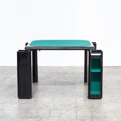 70s Pierluigi Molinari game table for Pozzi Milano
