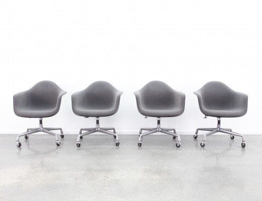 4 x PACC office chair by Charles & Ray Eames for Herman Miller, 1980s