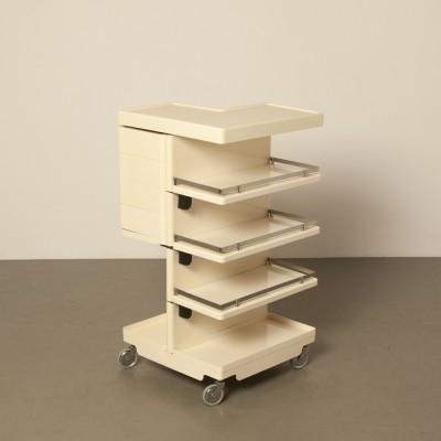 4 x Toboret serving trolley by Fabio Lenci for iGuzzini, 1970s