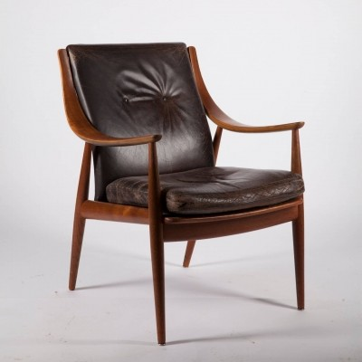 Arm chair by Peter Hvidt & Orla Mølgaard Nielsen for France & Son, 1950s